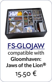 insert organizer gloomhaven jaws of the lion