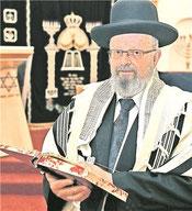 Michael Bar-Lev, Rabbiner der Jüdischen Gemeinde Pforzheim