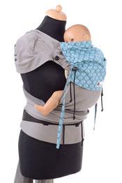 Huckepack Wrap Tai Baby exklusiv