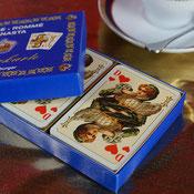 rommekarten spielkarten historisch