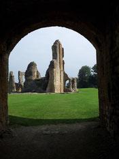 Eingang Old Castle - Sherborne