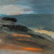 tramontana 2015 30 x 30 cm Öl / Leinwand