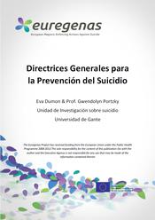 Euregenas, Directrices generales para la prevención del suicidio.