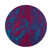 magenta-turquoise marble BE24/LIN22/RO22 / ZS22