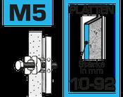 hier kann man Hohlraum-Anker M5 kaufen