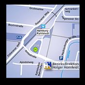 Anfahrt | Kontakt - Generalagentur Holger Homfeldt, Hamburg
