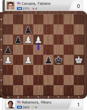 Nakamura-Caruana, Partie 6, Final Four, Magnus Carlsen Invitational