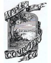 Das erste Apple Logo 1976
