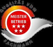 Grafik: Siegel - Qualität aus Meisterhand: ELKO, Eichstätt - Fachbetrieb für Innenputz, Außenputz, Wärmedämmverbundsysteme (WDVS) in den Bereichen Rohbau / Sanierung