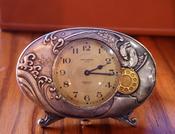 (商品番号T-1)ウオルサム(卓上置き時計)/1910年代(明治40年代)手巻き