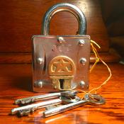 (商品番号Z-3)からくり南京錠