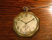 (商品番号T-2)エルジン懐中時計