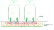 Schwingungsdämpfende Bodenplatte aus RSS Flüssigboden