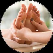 Fußreflexzonenmassage in der Naturheilpraxis Verena Holub
