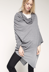 Esprit Poncho Jersey Light Grey