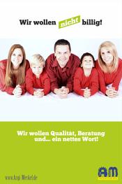 www.Argi-Merkel.de - Wir wollen nicht billg! - Friseur Frensdorf