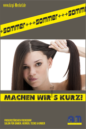 www.Argi-Merkel.de - Sommer - machen wirs kurz - Friseur Frensdorf