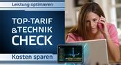 Zum Angeboten | Verbesserung der WLAN & INTERNET Qualität Beseitigung von Störungen und Gefahrenquellen Analyse von Telefon- & Datentarifen & Stromverbrauch