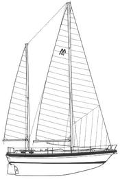 Morgan 416 Ketch