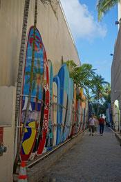 ハワイ オアフ島 ワイキキ サーフボード オプショナルツアー 専用車での貸切観光 チャーター