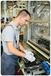 Einblick in die Produktion von Bosch e-MTB Motoren