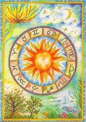 "Zodiaque ""astrologie et nature"""