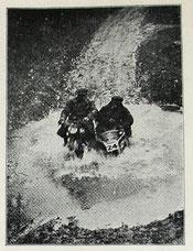Butcher (engl.Nationalteam) auf Rudge SSDT 1929, Quelle: Motor-Sport Dez. 1929