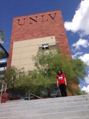 奨学金を獲得し、UNLVへ編入