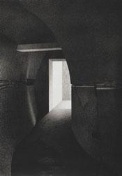 Die Toten Insel XI 1991 dessin mine de plomb