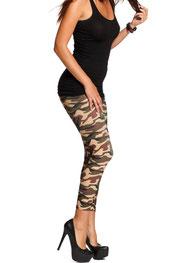camouflage print legging c-jay, camo