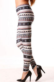 patroon/winter & kerst print legging prolink,