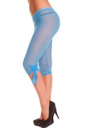 driekwart & kort legging danilshery, kant wit