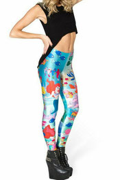 bloemen print leggings