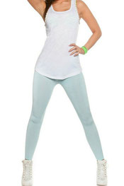 effen kleur leggings