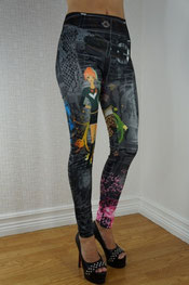 print design legging,