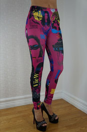 print design legging puck nina