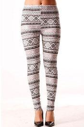 patroon print legging phaelyan,