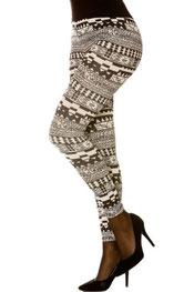 patroon/blokken & strepen print legging phileine-lola/barlin,