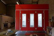 Cabine à peinture à Toulouse pour laquage et vernissage du métal, bois, plastique