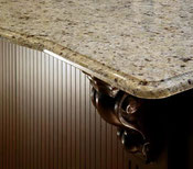 New Venetian Gold granite countertop