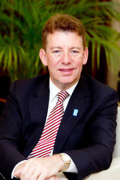 CEO Paul Griffiths of Dubai Airports.