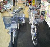 大人の三輪自転車 サイズ比較