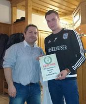 Spieler des Jahres 2015 - Markus Roth