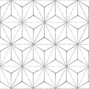 motif fleur de vie - Kikkô