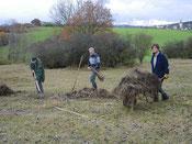 Biotoppflege Dünscheder Heide