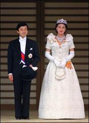 Принц Нарухито и Масако Овада