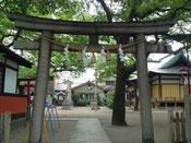 尼崎市皇大神社 北鳥居