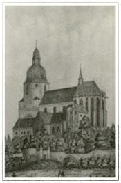 das Münster um 1834