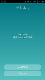 fitbit registering