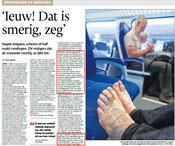 Imago en etiquette deskundige Gonnie Klein Rouweler etiquette trein de persdienst
